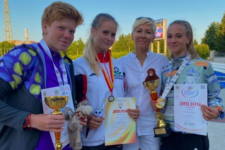Балаковские легкоатлеты отлично выступили на соревнованиях в Чебоксарах