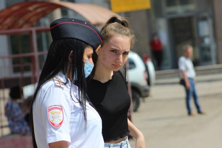 В Балаково госавтоинспекция провела рейд по пешеходам и водителям