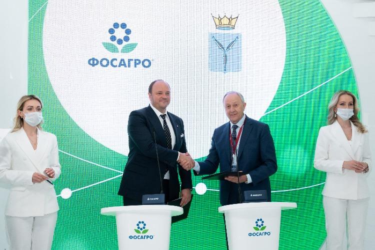 Сотрудничество ФосАгро и Саратовской области только крепнет