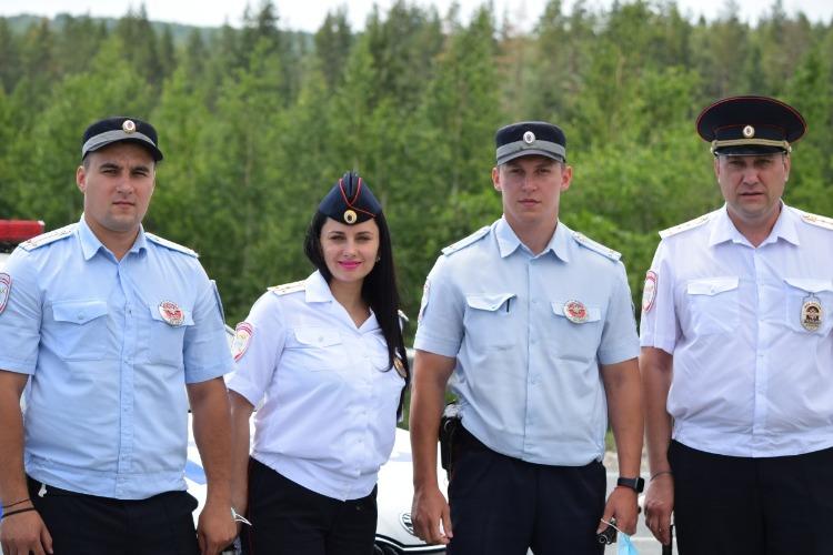 Балаковская госавтоинспекция провела рейд на трассе Сызрань - Волгоград