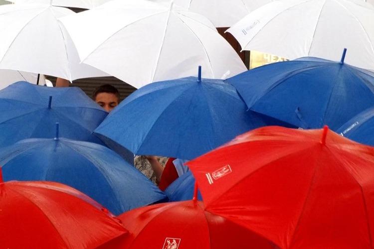 Погода в Балаково: День России с дождем