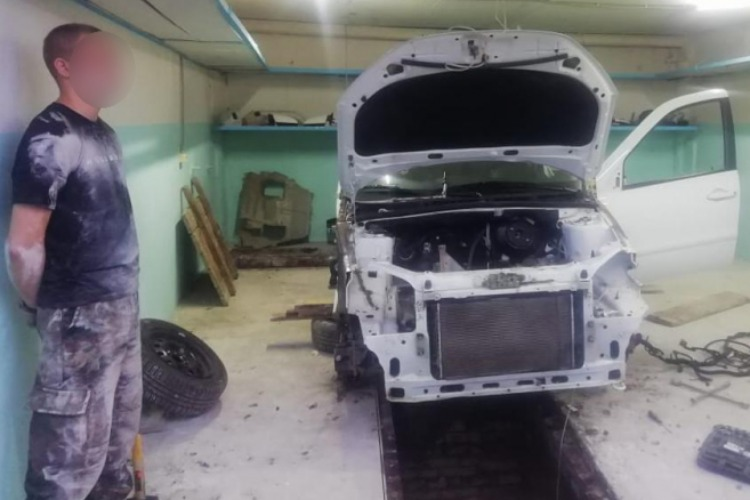 Угон и разбор машин Автоваза балаковец чуть было не поставил на поток