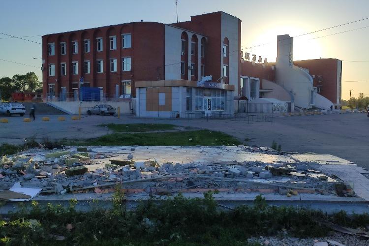 Останки автовокзала Балакова нашли новую обитель
