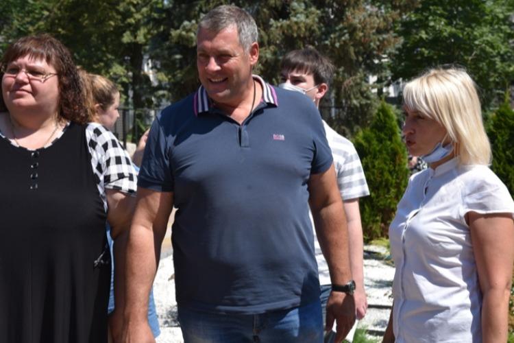 Фронтовики осмотрели общественные территории Балакова
