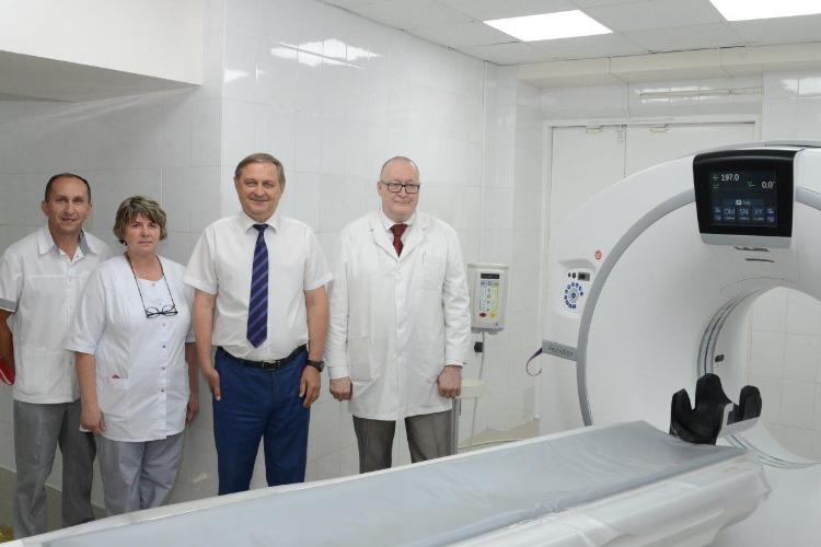 Благодаря Балаковской АЭС в нашем городе заработал новейший компьютерный томограф