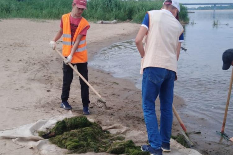 Коммунальщики начали очищать городские пляжи после провального открытия сезона