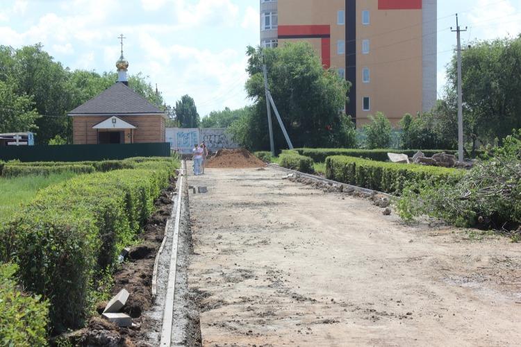 """Что за """"дорога"""" строится к васильевским санаториям?"""