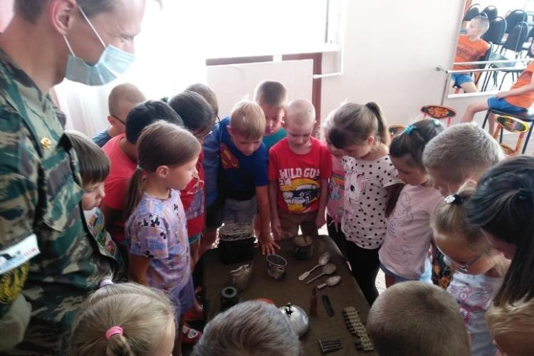 Центр Набат посетил детский сад