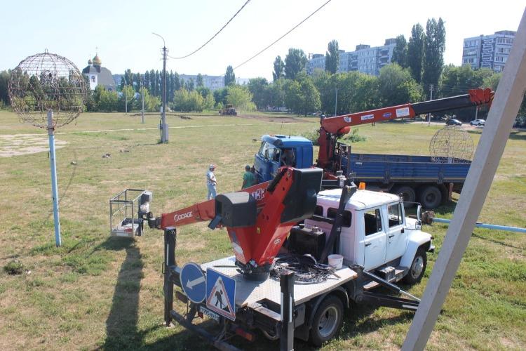 В Балаково стартовали работы по строительству Центрального парка
