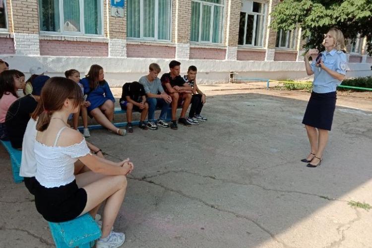 Наркополиция рассказала школьникам о запрещенных веществах