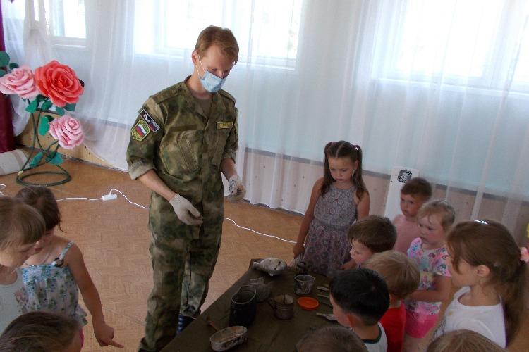 Центр Набат рассказал дошкольникам о Великой Отечественной войне