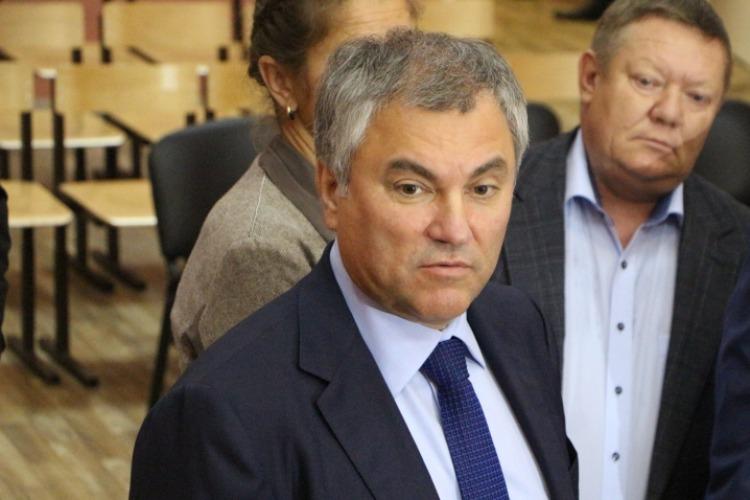 Свежий фильм о Вячеславе Володине депутат Панков назвал провокацией за гульдены из иностранных фондов