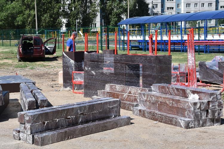 Строительство стройплощадок при школах Балакова: самый свежий срез