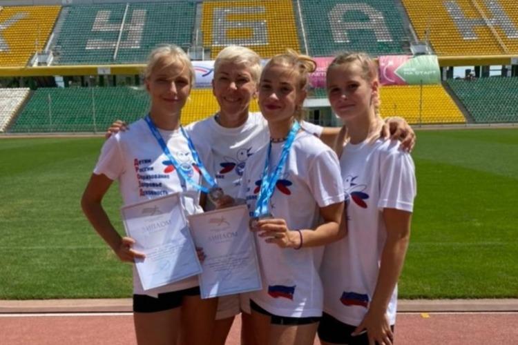 Балаковские спортсменки привезли медали из Краснодара