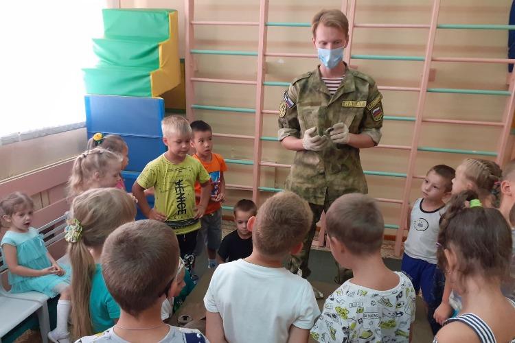 В Балаково центр Набат провел открытый урок для дошкольников