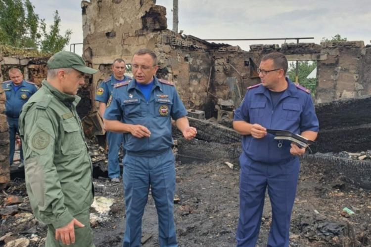 По факту жуткого пожара в Наумовке возбуждено уголовное дело