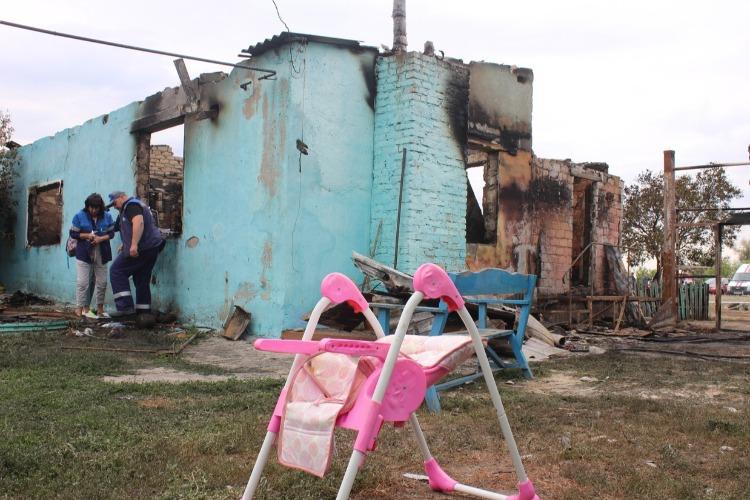 Беда в Наумовке. Здесь власти нет и гибнут дети