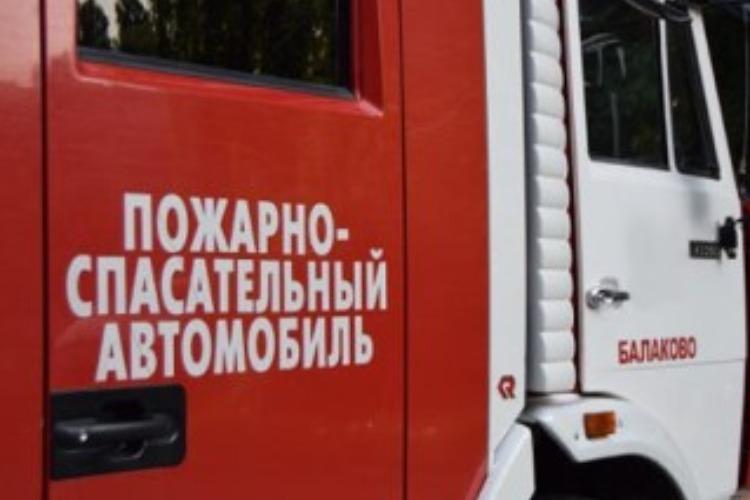 Ночью в Балаково горел магазин Магнит