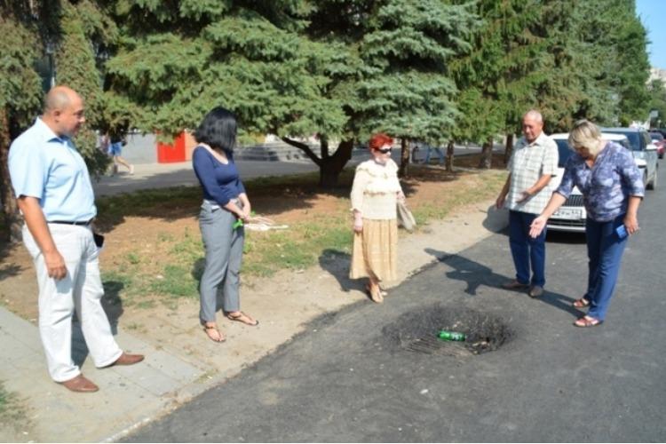ОПа проинспектировала улицу Ленина от начала до конца