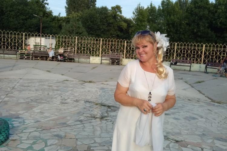 Надежда Познякова поблагодарила местные власти за организацию танцплощадки