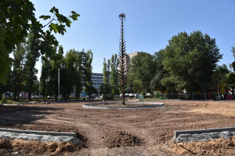 В Детском парке Балаково начался 4 этап благоустройства