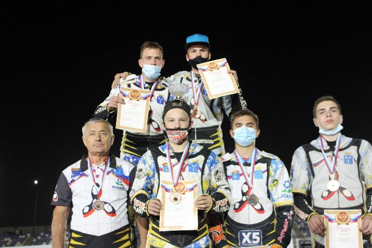 Гонщики из Балаково стали бронзовыми призерами командного Первенства среди юниоров