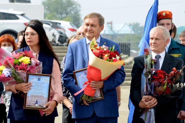 Директор Балаковской АЭС Валерий Бессонов занесен на Доску почета Балаковского муниципального района