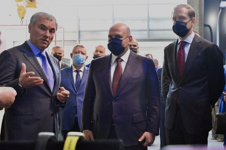 Михаил Мишустин ознакомился с новым инвестпроектом МЗ Балаково
