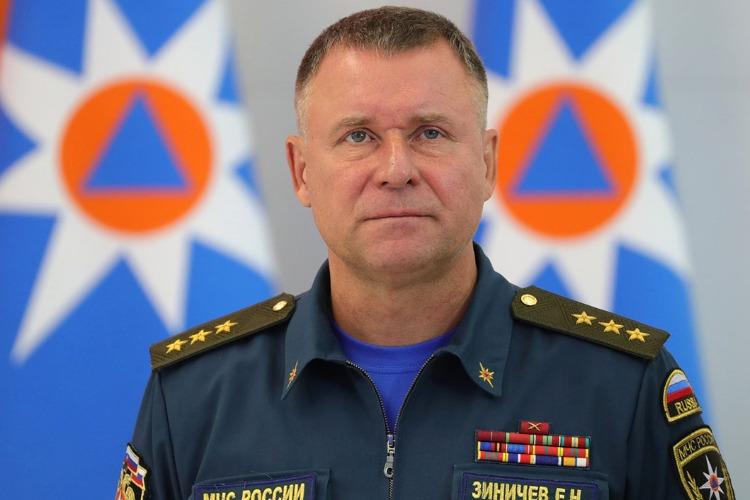 Спасая жизнь человека, погиб глава МЧС России Евгений Зиничев
