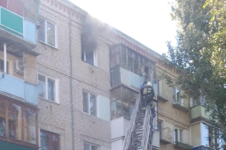 Два человека погибли на пожаре в Балаково