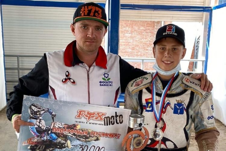 Гонщик из Балаково стал вторым на юниорской гонке в Тольятти