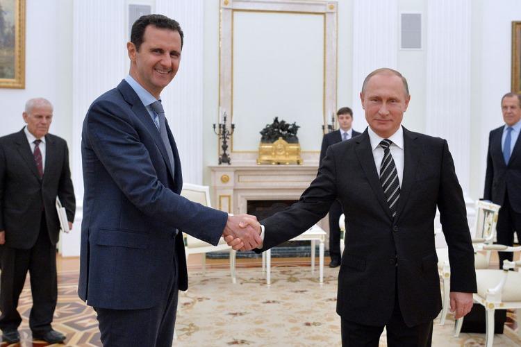 Что случилось этой ночью. Владимир Путин в Кремле встретился с Башаром Асадом