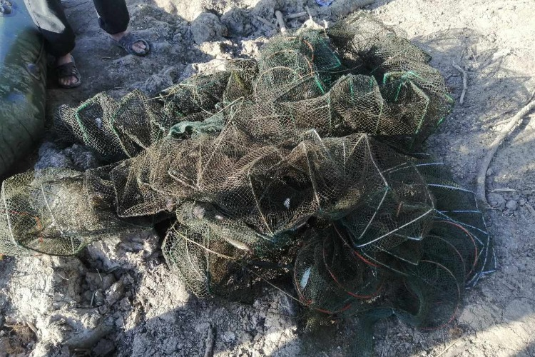 Двое ранее судимых раколовов попались на браконьерстве на Большом Иргизе. Им грозит 5 лет колонии