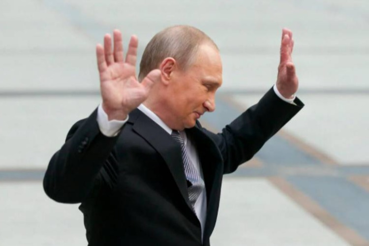 Владимир Путин объявил об уходе на самоизоляцию