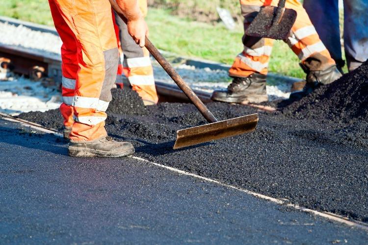Тротуары на Трнавской сделают до конца октября