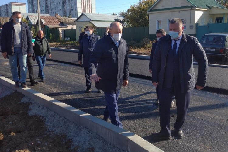 Сергей Грачев рассказал губернатору, когда достроят дорогу по Братьев Захаровых
