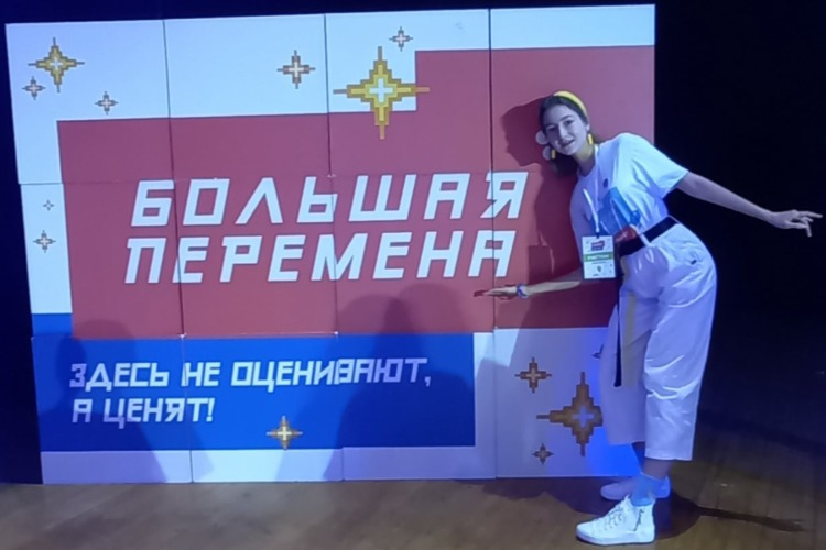 """Дарья Дудина: """"Большая перемена - это мой кайф!"""""""