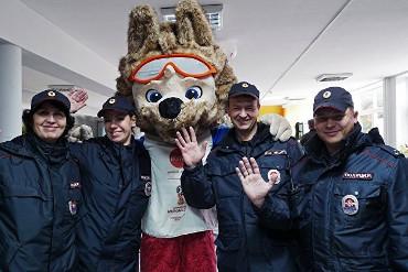 Очень по-русски! Полиция перекрылась от журналистов на период проведения мундиаля