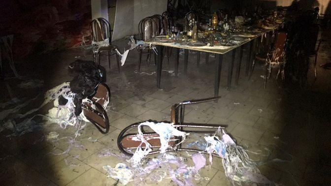 Подробности взрыва в кафе, прогремевшего на всю страну