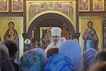 Божие будет возрождаться! На территории БФ АО «Апатит» состоялся чин освящения храма в честь святителя Спиридона Тримифунтского