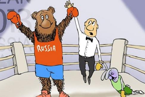 Универсиада как пародия на спорт. Россия бессмысленно и очень патриотично избивает любителей