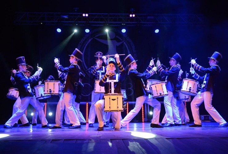 Балаковская АЭС встретила участников Всероссийского фестиваля любительских цирковых коллективов