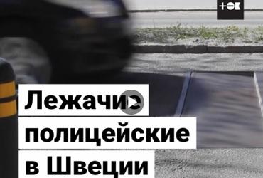 Лежачий полицейский, который бережет подвеску. Видео