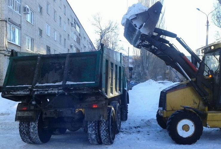Борьба со снежным пленом зимы-2019