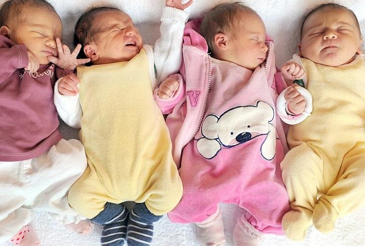 В России снизилась рождаемость