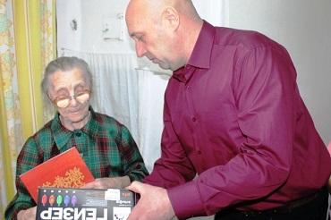 Балаковской долгожительнице исполнилось 105 лет