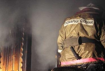 На Рождество в Балакове сгорела большая дача