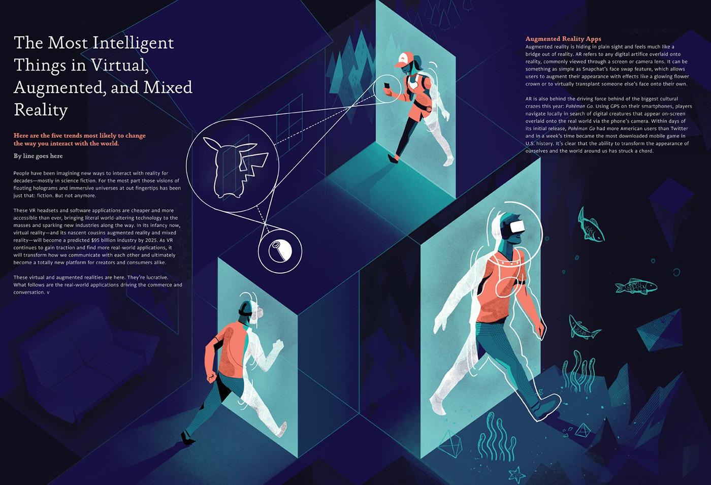 Project: Let's take a dive into Virtual Reality Author: Léonard Dupond
