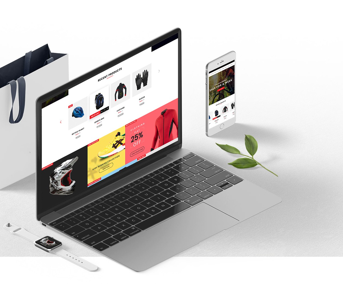 Project: SportsCLB Commerce Website Design Author: Chirag Chauhan