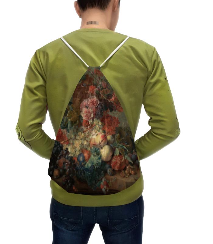 Фото - Printio Рюкзак-мешок с полной запечаткой Цветы (ян ван хёйсум) printio чехол для samsung galaxy s8 объёмная печать цветочный букет в стеклянной вазе ян де хем